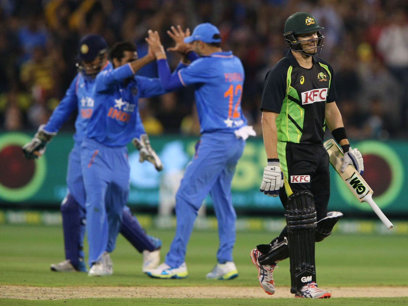 Aussies lose T20 series, Finch hurt