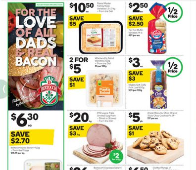 This week at Woolworths you'll find a delicious supermarket special.