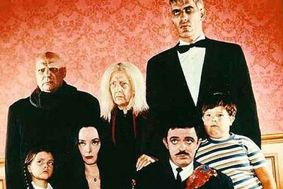 <b>Who are they?</b> Gomez and Morticia have two children: morbid Wednesday and Pugsly. There's also uncle Fester, Grandmama, towering butler Lurch, and a disembodied hand, Thing.<br/><br/><b>Why they're so awesome:</b> They may have been mysterious and spooky, but they were also one of the most close-knit TV clans. Gomez didn't hide his love for Morticia, and the family encouraged the kids to explore their (macabre) interests.<br/><br/><b>Rival clan:</b> The Munsters (<em>The Munsters</em>). To paraphrase <i>The Simpsons</i>, if the mum was a vampire 	and the father was a Frankenstein, how come the kid was a werewolf?