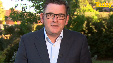 Daniel Andrews told Today he hopes the Victorian community will emerge stronger than ever.