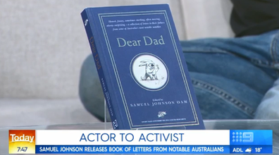 The book features letters by prominent Australians to their dads.