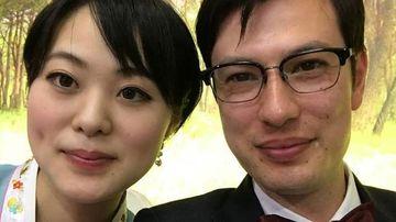 Alek Sigley married a Japanese woman last year.