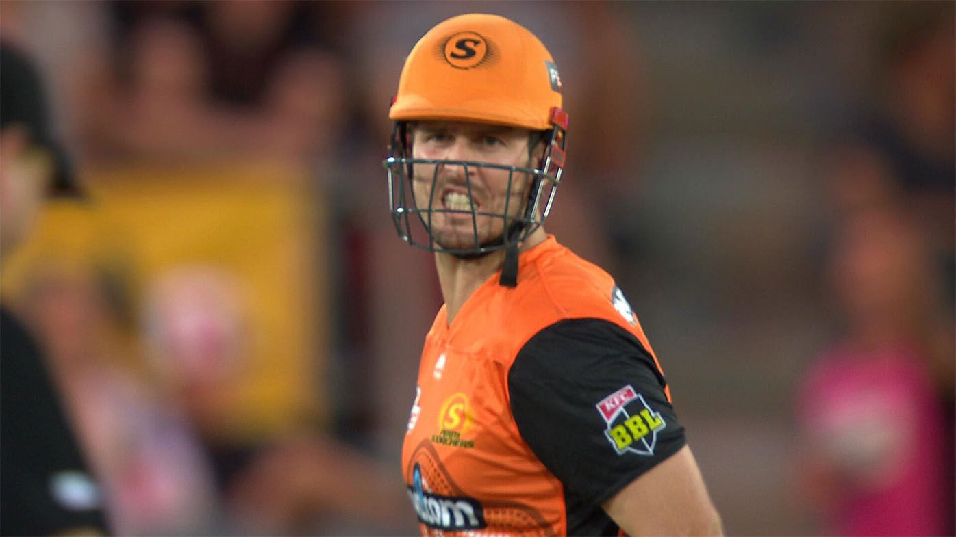 Perth Scorchers star Mitch Marsh fined $5000 but avoids suspension after extraordinary outburst at umpire