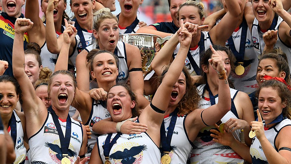 Female AFL participation numbers reach record high