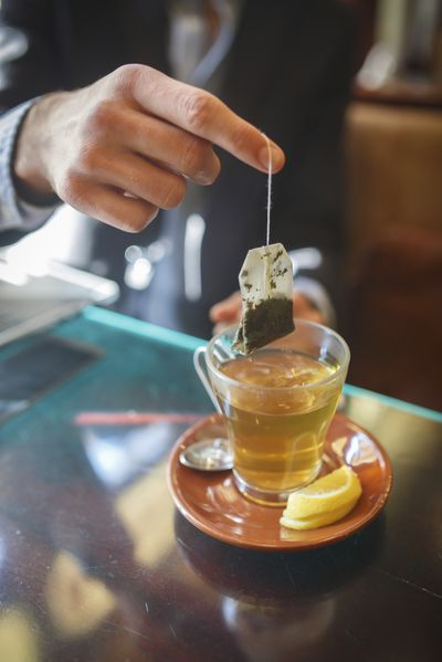 <strong>Green tea (bagged)</strong>