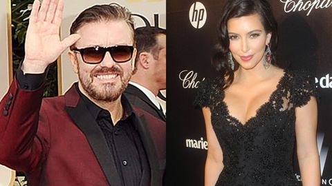 Kim Kardashian thought Ricky Gervais' 'trashy Kate Middleton' call was funny