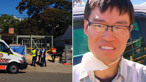 Jimmy Li has spoken to 9NEWS about the wall collapse at Carlingford.