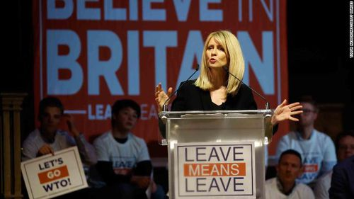 Conservative Party MP Esther McVey. Picture: TOLGA AKMEN/AFP/Getty Images