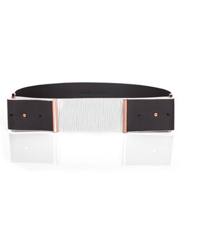 "<a href=""http://www.gingerandsmart.com/encase-wide-belt-9340057153860.html"" target=""_blank"">Ginger &amp; Smart</a> Encase wide belt, $169"