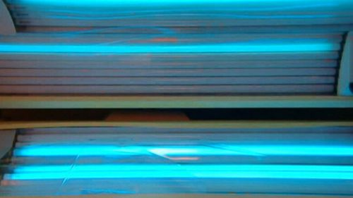 One session in a solarium increases the risk of melanoma by 40 percent.
