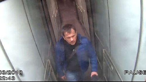 Russian National Alexander Petrov enters London at Gatwick Airport.
