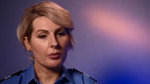 Senior Constable Steph Bochorsky has been recognised for her bravery.