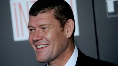 Billionaire James Packer, director of Crown Resorts, rounded up the list in the 15th spot. (AAP)