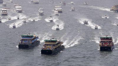 Iconic Ferrython race