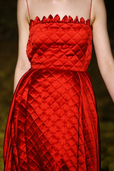 <p>Christian Dior Haute Couture Spring 2017.</p> <p>Textures that appeal to the eye and the fingertips.</p>