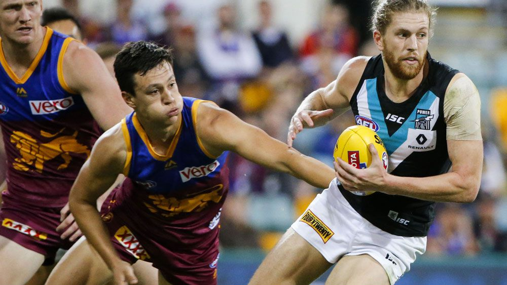 Port too powerful for Brisbane in AFL