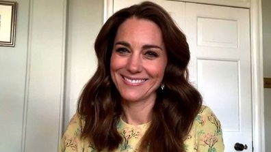 Kate Middleton Duchess of Cambridge appears on This Morning to launch Hold Still community photography project