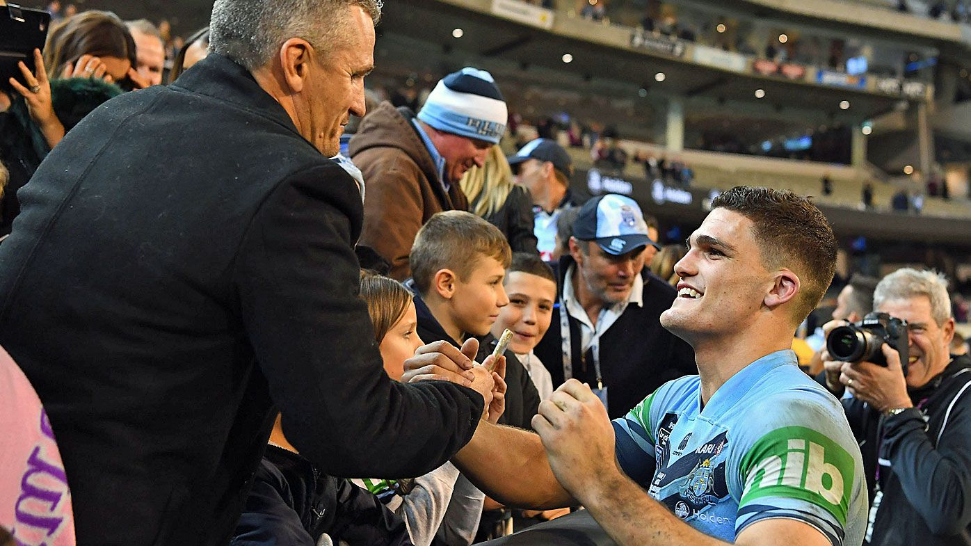 I want to team up with dad: Nathan Cleary