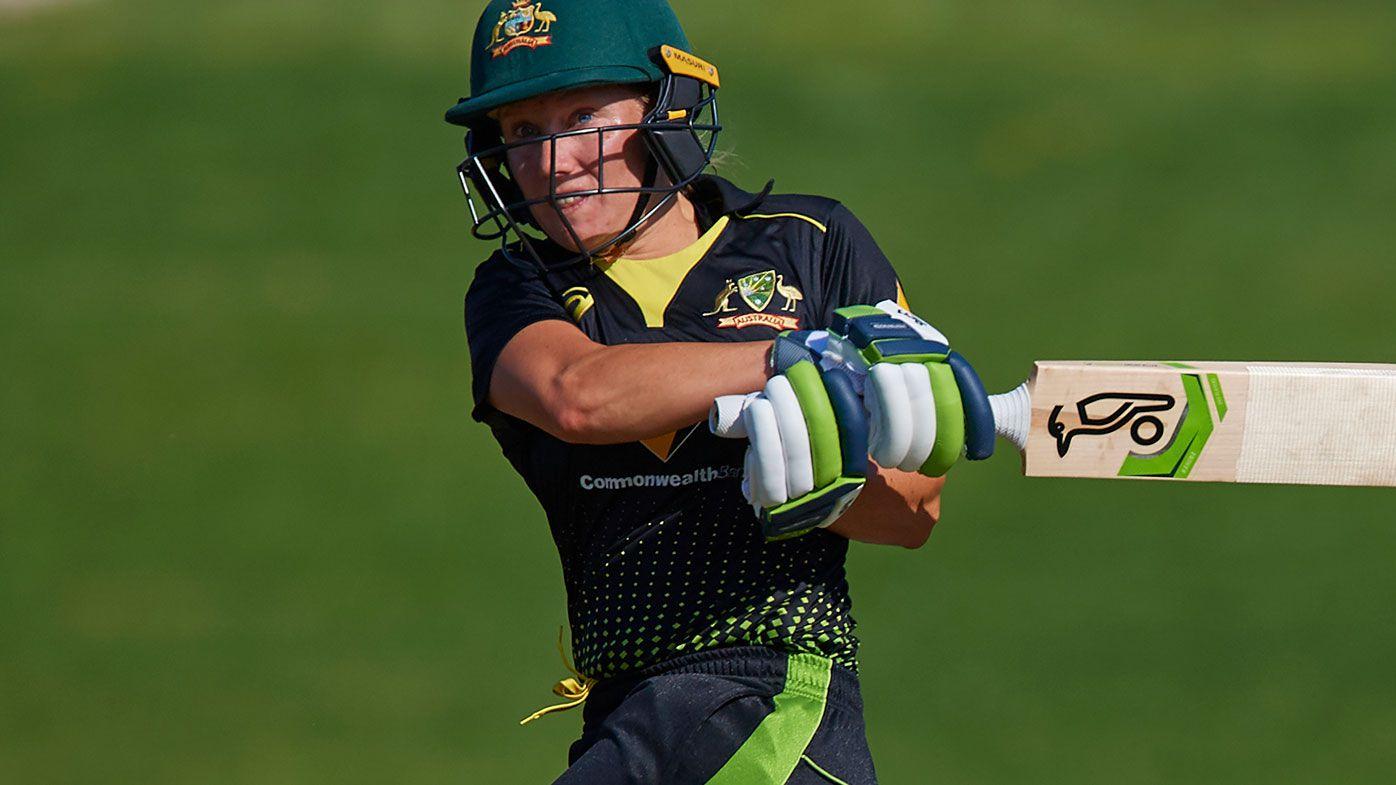 Australia's Alyssa Healy smashes record T20I score