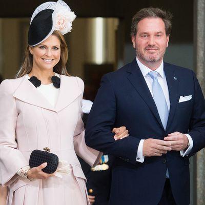 Princess Madeleine of Sweden and husband Chris O'Neill