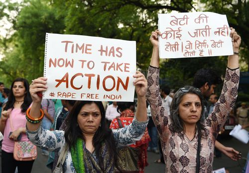 Rape and sexual assault is a growing problem in cities around India.