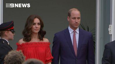 Prince William speaks German on Royal tour