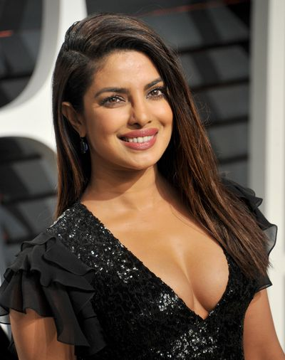 Actress and Miss World Priyanka Chopra, 2017.