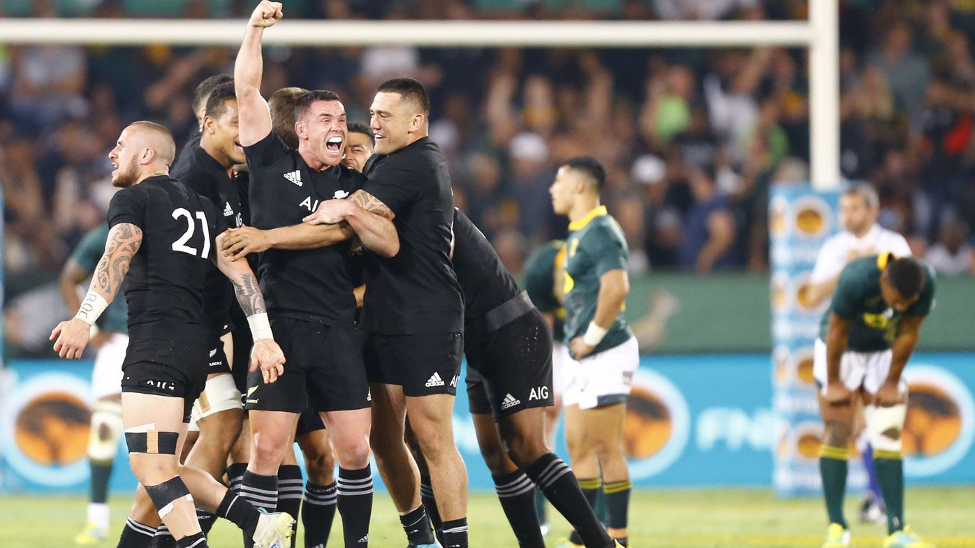 All Blacks coach Steve Hansen praises NZ for last-gasp Boks win