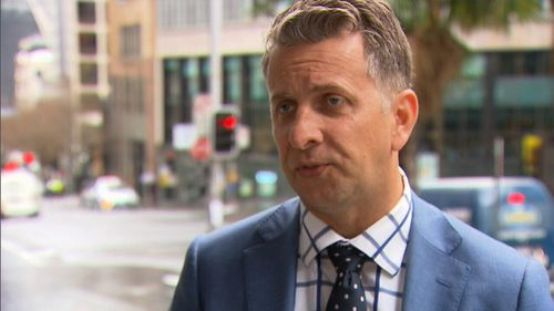 NSW Transport Minister Andrew Constance said the pedestrian is lucky to be alive. Picture: 9NEWS