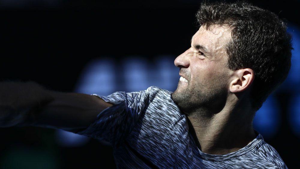 Grigor Dimitrov has enjoyed a great Australian Open. (AAP)
