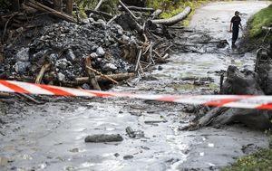 Man and girl feared dead in Switzerland mudslide