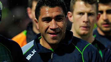 Former All Black Mils Muliaina. (Getty)