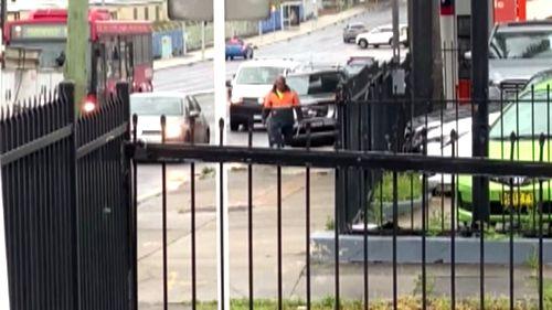 Burwood road rage incident, Sydney.