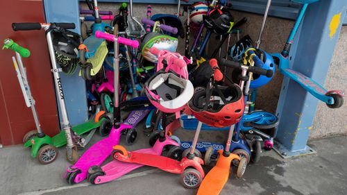 Scooters responsible for nearly half of children head injuries