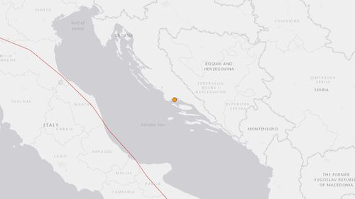 Magnitude 4.6 quake causes minor damage along coastal Croatia
