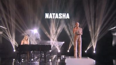 Delta Goodrem and Natasha Stuart