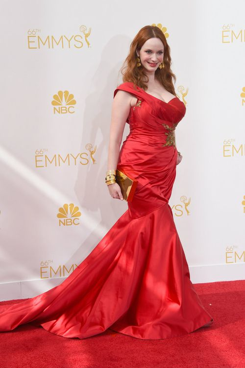 Christina Hendricks, from Mad Men. (Getty Images)
