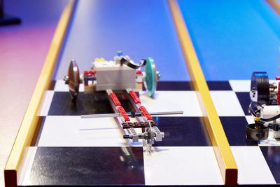 Three-wheel dragster | No Wheels Race Challenge