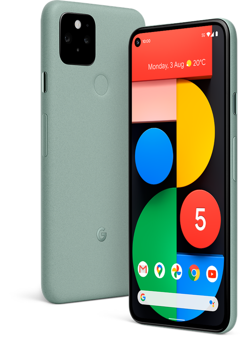 Google Pixel 5 and 4A