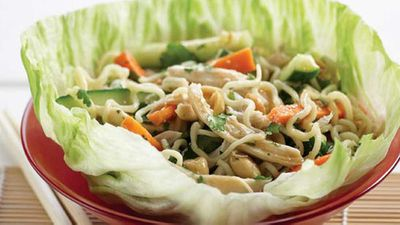 "<a href=""http://kitchen.nine.com.au/2016/05/13/11/20/chicken-san-choy-bow-salad"" target=""_top"">Chicken san choy bow salad</a> recipe"