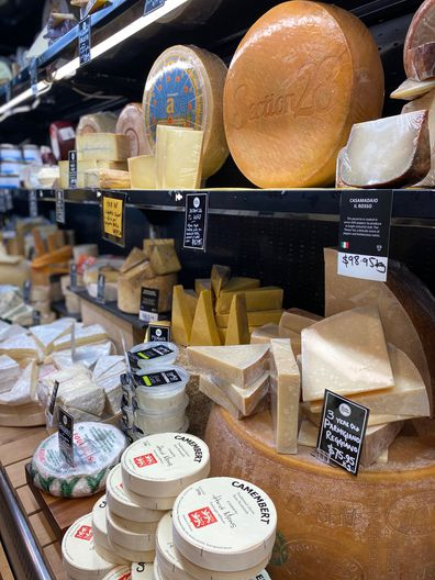 Adelaide Central Markets - Smelly Cheese Shop.