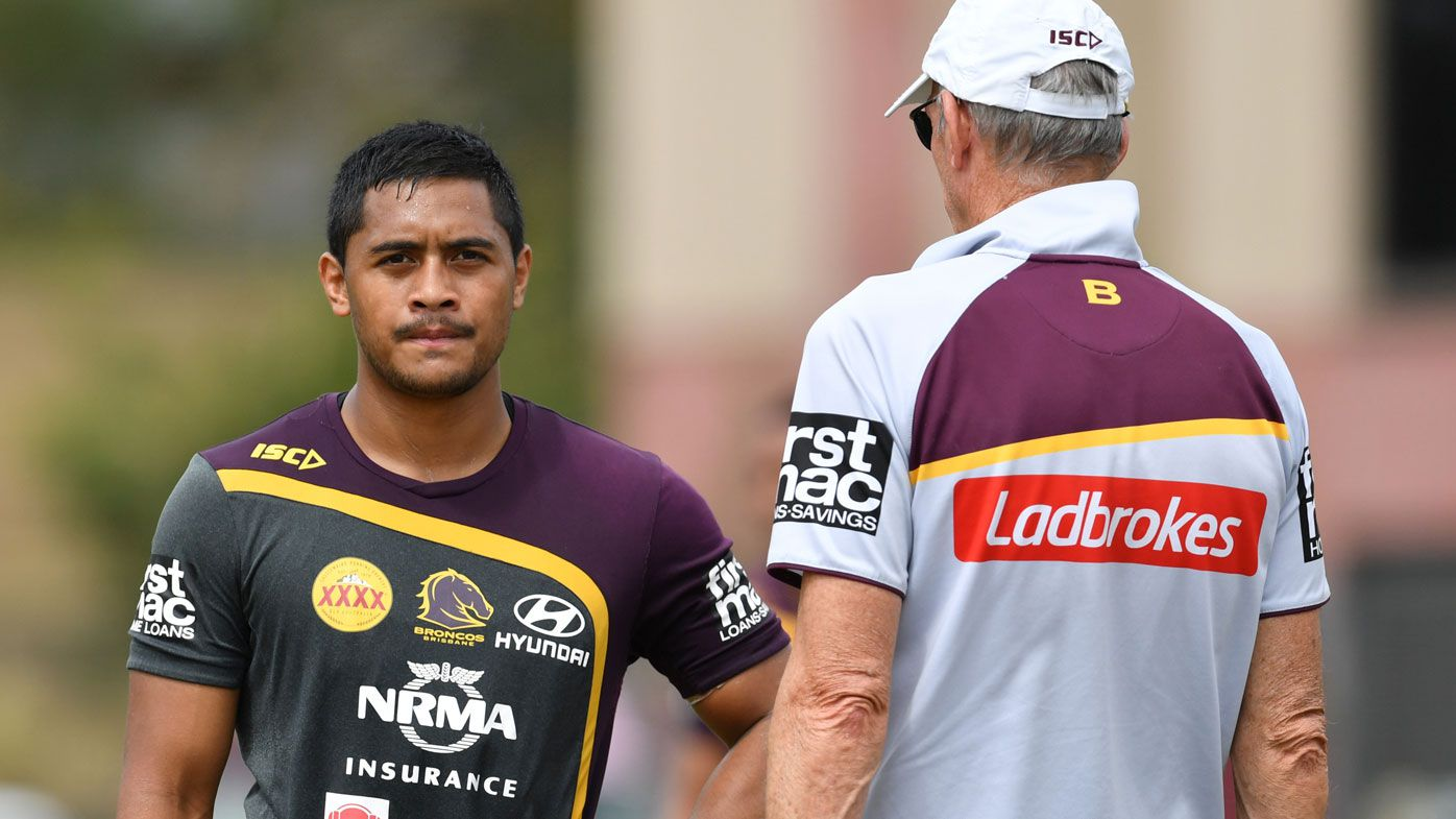 Move Brisbane Broncos five-eighth Anthony Milford to No.7, says Mal Meninga