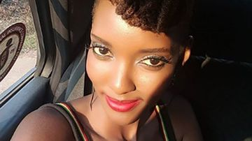 Slain Rwandan model Alexia Mupende is pictured in a photo from her Instagram account.