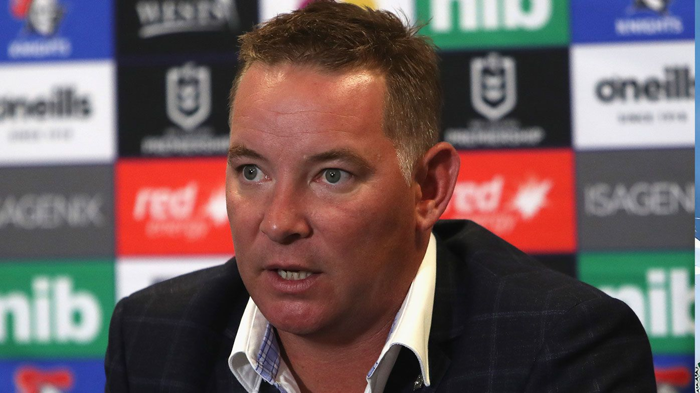 Adam O'Brien determined to end 'culture' of losing at Newcastle