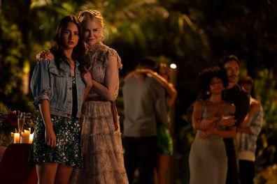 Nicole Kidman and Grace Van Patten.