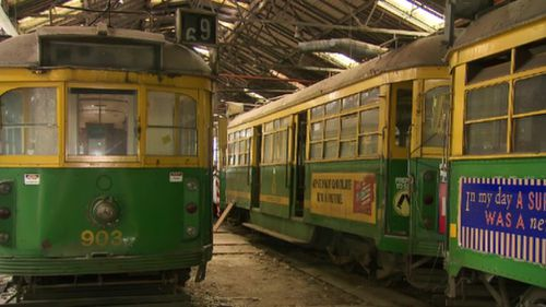 The Melbourne icons began carrying passengers in the 1920s. (9NEWS)