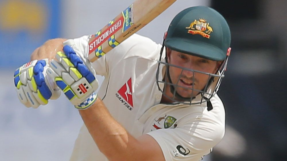 Shaun Marsh will open the batting for Australia. (AAP)