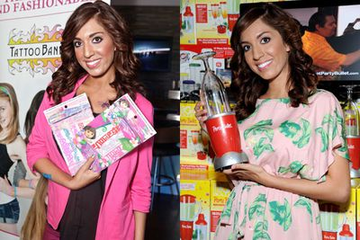 "Farrah Abraham (aka ""Teen Mom"") is so good at selling stuff, her sex tape attracted more hits than Kim K's in its first day of release!"