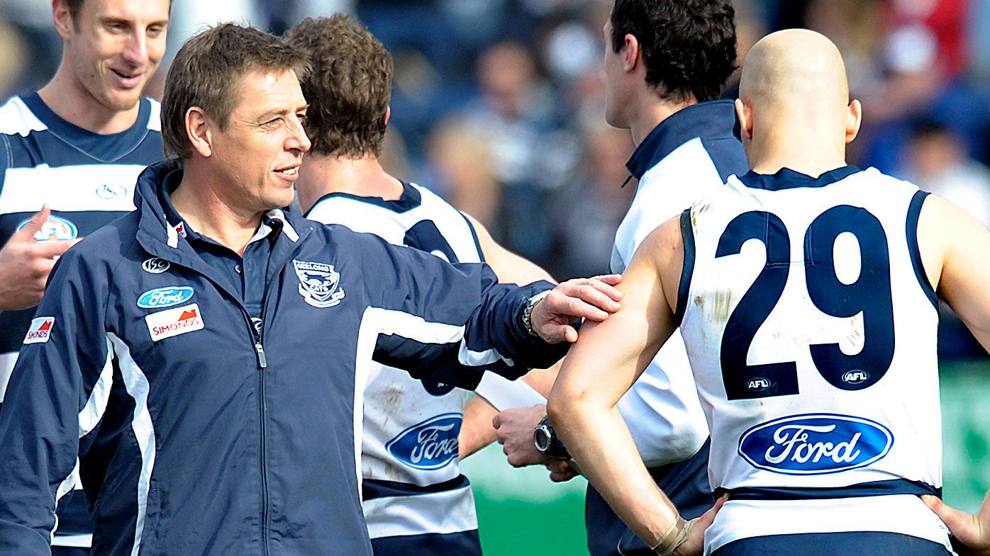 'I had to be talked into attending': Embattled former Geelong coach Mark Thompson on attending 2009 reunion