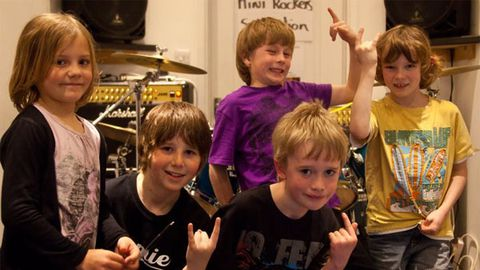 The Mini Band: The world's youngest Metallica cover band